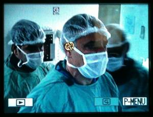Dr.Carlos Abath Durante Transmissao Ao Vivo Para Videoconferência No Curso TOPE ANGIORAD